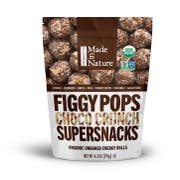 Made in Nature Chocolate Crunch Fig Pops, 4.2 Ounce -- 6 per case.