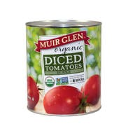 Muir Glen Organic Diced Tomato, 102 Ounce -- 6 per case.