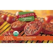 Muir Glen Organic Fire Roasted Diced Tomato, 28 Ounce -- 12 per case.