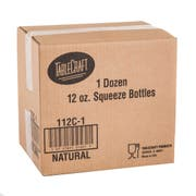 12 Ounce Clear Squeeze Dispenser -- 12 per case