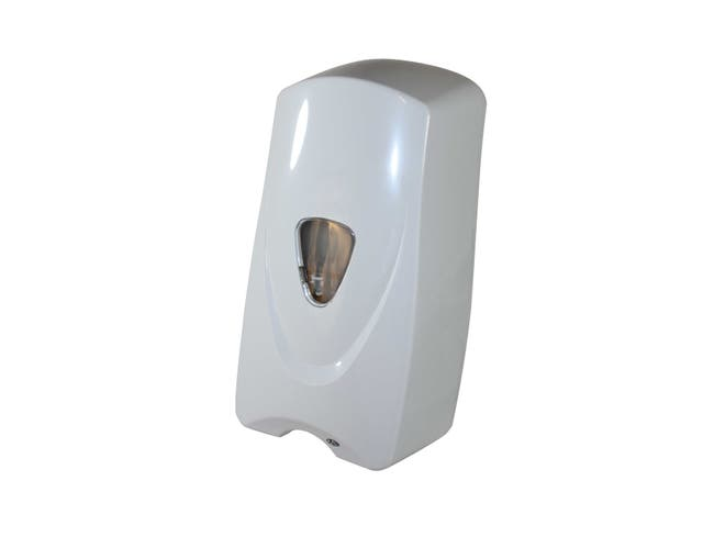 Impact Products Foam-eeze White Bulk Foam Sensor Soap Dispenser, 11 inch Length x 5 1/2 inch Width x 4 1/2 inch Height -- 12 per case.