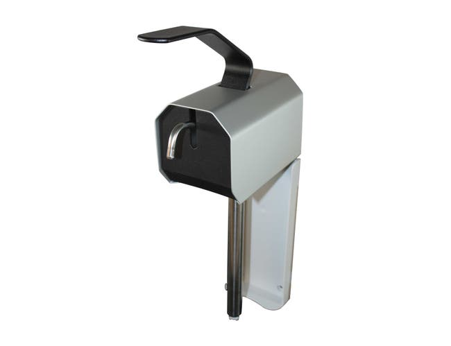 Impact Products Stainless Steel Lotion and Grit Lotion Soap Dispenser, 17 1/4 x 4 x 9 1/2 inch -- 10 per case.