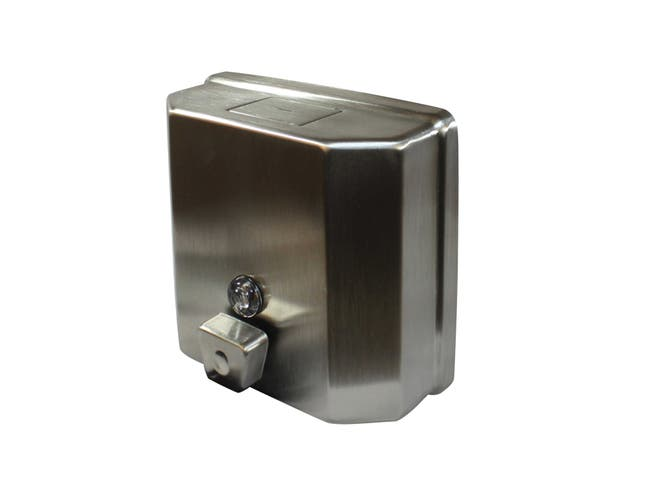 Impact Products Metal Soap Dispenser, 4 x 6 1/2 x 7 1/4 inch -- 12 per case.
