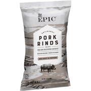 Epic Sea Salt and Pepper Pork Rinds, 2.5 Ounce -- 12 per case.