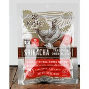 Epic Traditional Chicken Sriracha Jerky, 2.25 Ounce -- 64 per case