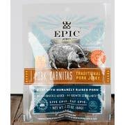 Epic Traditional Pork Carnitas Jerky, 2.25 Ounce -- 64 per case