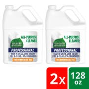 Seventh Generation Pro All-Purpose Cleaner Refill,Free and Clear, Unscented, 128 Fluid Ounce -- 2 per case