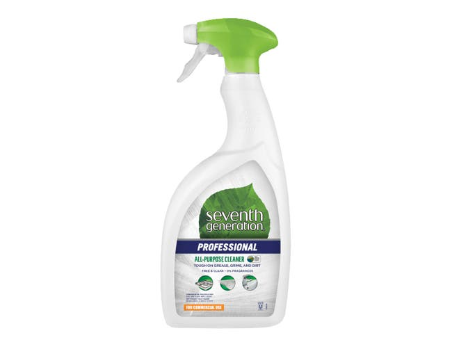 Seventh Generation Professional All-Purpose Cleaner, Free and Clear, Unscented,  32 Fluid Ounce -- 8 per case