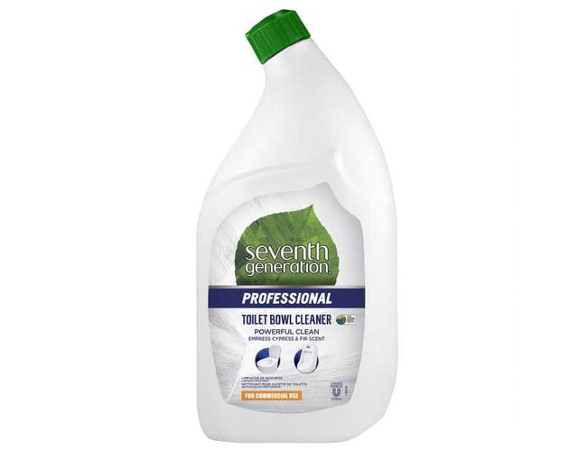 Seventh Generation Professional Toilet Bowl Cleaner, Empress Cypress and Fir Scent, Biodegradable, 32 Fluid Ounce -- 8 per case