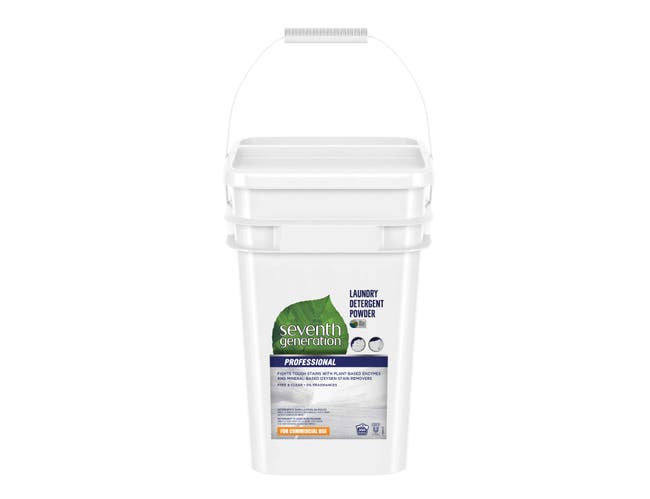 Seventh Generation Professional Laundry Detergent Powder, Free and Clear, Unscented, 35 Pound -- 1 each