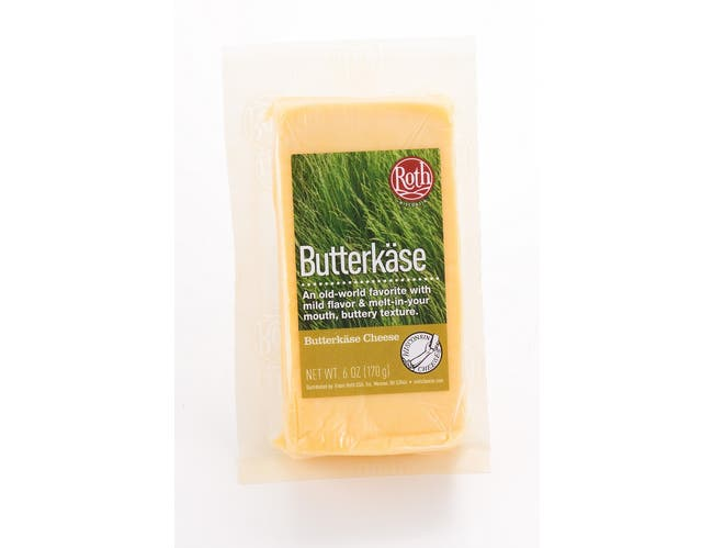 Roth Butterkase Deli Cuts Cheese, 6 Ounce -- 12 per case.