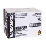 Handgards Black Powder Free Small Disposable Nitrile Gloves -- 1000 per case.