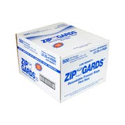 ZipGards Clear Disposable Reclosable Freezer Zipper Bag, 6.5 x 6 inch -- 500 per case.