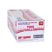 ZipGards Clear Disposable Reclosable Freezer Zipper Bag, 13 x 15.5 inch -- 100 per case.