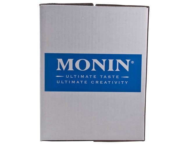 Monin Raspberry Tea Concentrate - 750 mL glass bottle, 12 bottles per case