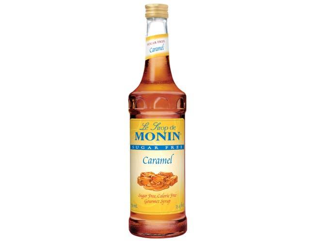 Glass Caramel Sugar Free Flavor Syrup,750 Milliliter -- 12 Case