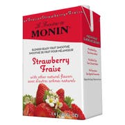 Monin Blender Ready Strawberry Fruit Smoothie Mix, 46 Ounce -- 6 per case.