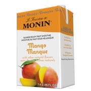 Monin Blender Ready Mango Fruit Smoothie Mix, 46 Ounce -- 6 per case.
