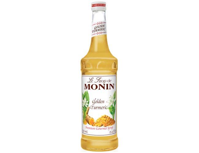 Monin Golden Turmeric Syrup, 750 Milliliter -- 12 per case.