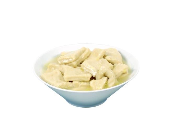 Vanee Foods Dumpling In Chicken Broth, 48 Ounce -- 12 per case.