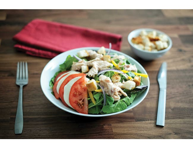 Cooked Boned Chicken With Broth Entree, 48 Ounce -- 12 Case