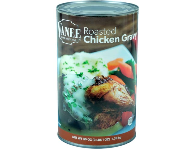 Roasted Chicken Gravy -- 12 Case 49 Ounce