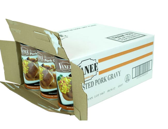 Roasted Pork Gravy, 50 Ounce -- 12 Case