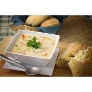 Vanee Condensed Cream of Chicken Soup - 51 oz. can, 12 per case