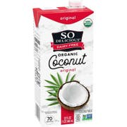 So Delicious Organic Original Coconut Milk Beverage, 32 Fluid Ounce -- 12 per case