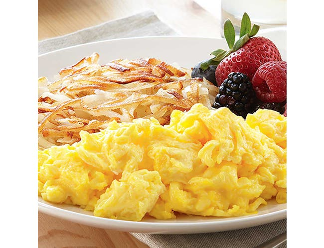 Michael Foods Papettis Easy Eggs Plain Whole Egg, 20 Pound -- 2 bags per case.