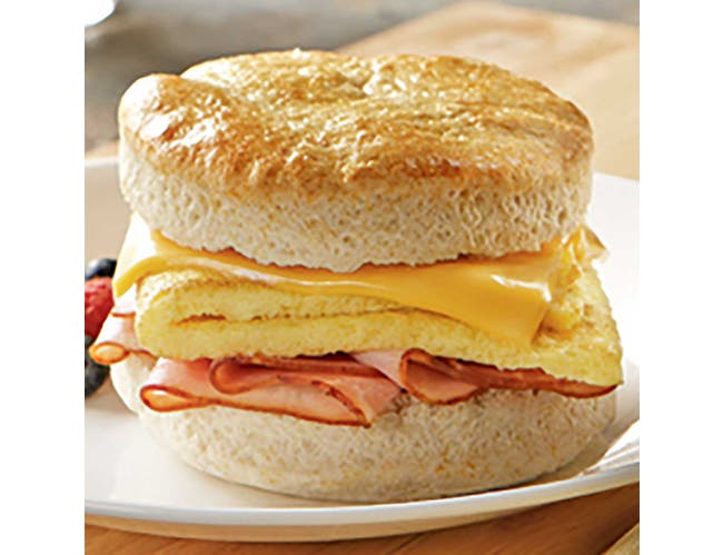 Michael Foods Papettis Plain Square Scrambled Egg Patty, 1.5 Ounce -- 120 per case.