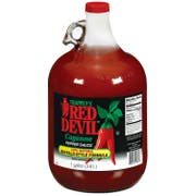Red Devil Buffalo Style Pepper Sauce, 1 Gallon -- 4 per case