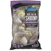 Seamazz 13/15 Tail On Raw White Shrimp, 20 Pound -- 1 each