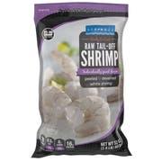Seamazz 31/40 Tail Off Raw White Shrimp, 20 Pound -- 1 each