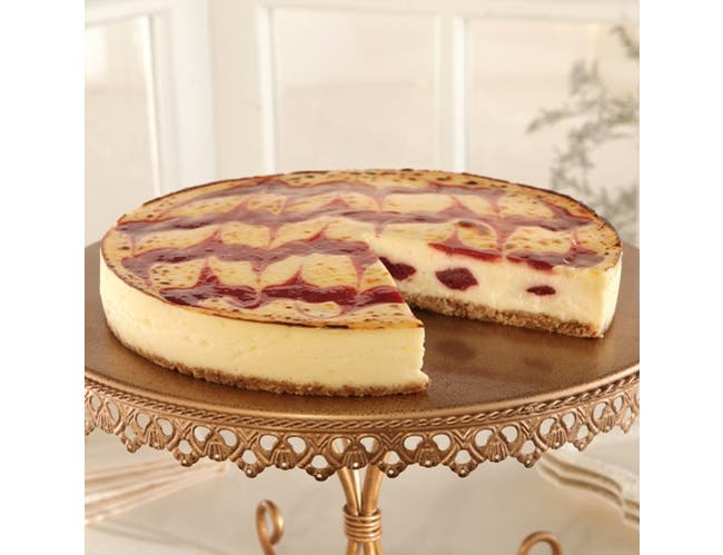 Sweet Street Strawberry Brulee Cheesecake, 55 Ounce -- 2 per case.