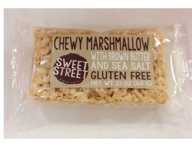 Sweet Street IW Chewy Marshmallow with Brown Butter and Sea Salt, CGF, 2.1 Ounce -- 40 per case.