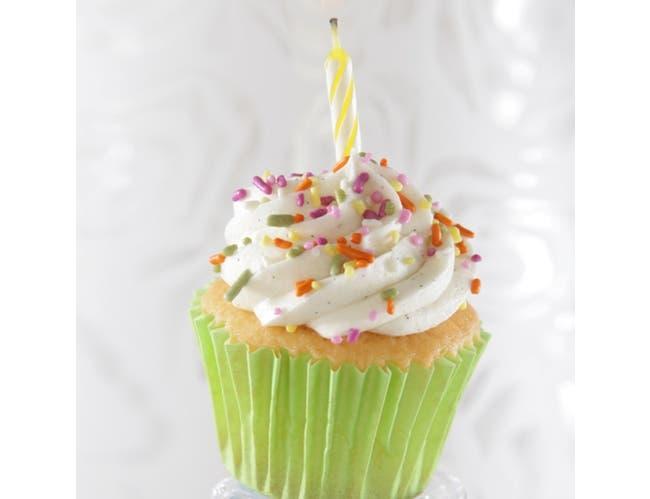 Sweet Street Celebration Iced Cupcake, 0.57 Pound -- 8 per case.