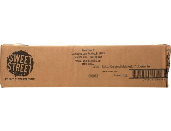 Sweet Street Salted Caramel Manifesto Cookie, 2.8 ounce -- 48 per case