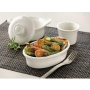 Syracuse China Casablanca Small Pot Pie Dish -- 36 per case.