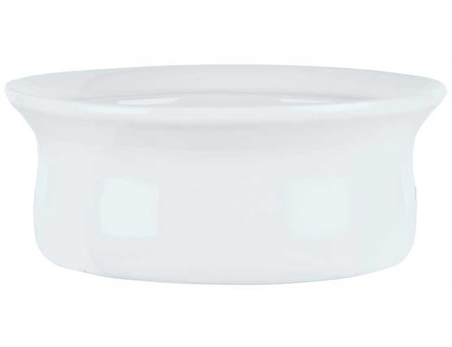 Syracuse China Chefs Selection Aluma White Large Deep Unhandled Casserole, 15 Ounce -- 24 per case.