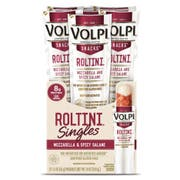 Volpi Roltini Singles With Mozzarella and Spicy Salame, 1.5 Ounce -- 72 per case