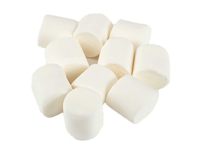 Clown Global Brands White Standard Marshmallows - 1 lb. poly bag, 12 per case