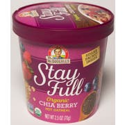Dr. Mcdougalls Chia Berry Oatmeal Cup, 2.5 Ounce -- 6 per case.