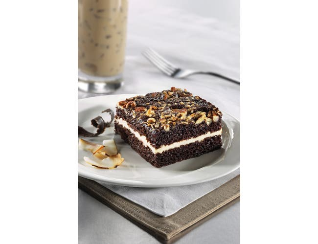 The Original Cakerie German Chocolate Dessert Cake -- 2 per case.