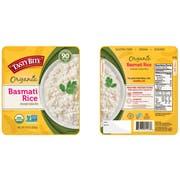 Tasty Bite Organic Basmati Rice, 8.8 Ounce -- 12 per case