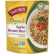 Tasty Bite Garlic Brown Rice, 8.8 Ounce -- 12 per case