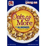 Ralston Foods Oats and More with Almonds Cereal, 14.5 Ounce -- 12 per case.