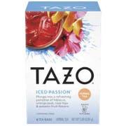 Tazo Iced Passion Herbal Tea - 6 tea bags per pack -- 4 packs per case