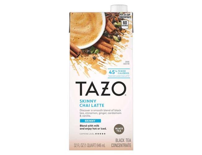 Tazo Skinny Chai Latte Tea Concentrate 1:1, 32 ounce -- 6 per case