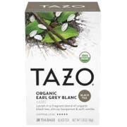 Tazo Organic Earl Grey Blanc Tea Bags - 20 tea bags per pack -- 6 packs per case